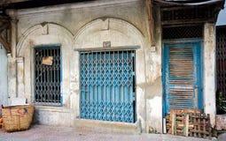 Altes System-Haus, Saigon Lizenzfreie Stockfotos