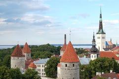 Altes Tallinn Lizenzfreies Stockfoto