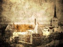 Altes Tallinn Stockbild