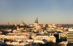 Altes Tallinn, Estland Stockfotografie