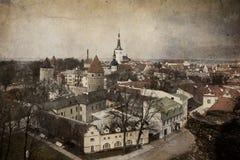 Altes Tallinn, Estland Lizenzfreie Stockfotos