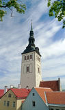 Altes Tallinn am Sommer Stockbilder
