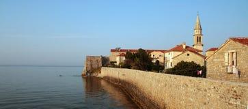 Altes Teil von Budva (Montenegro) Lizenzfreie Stockfotos