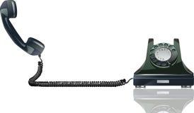 Altes Telefon Stockbild