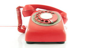 Altes Telefon stock footage
