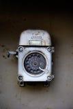 Altes Telefon (Drehvorwahlknopf) lizenzfreie stockfotos