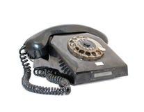 Altes Telefon lokalisiert lizenzfreies stockfoto
