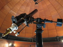 Altes Teleskop Stockfoto