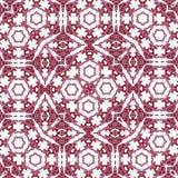 Altes Teppich Ornamentalmuster vektor abbildung
