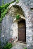 Altes Tor in der Festung Shpanola Stockbilder