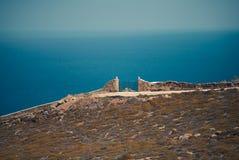 Altes Tor durch das Meer Lizenzfreie Stockbilder