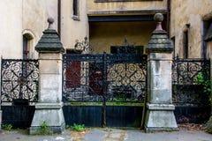 Altes Tor Schloss Sobotka Gorka Lizenzfreie Stockbilder