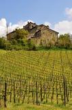 Altes toskanisches Haus Lizenzfreies Stockbild