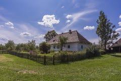 Altes traditionelles polnisches Haus in Sanok Lizenzfreie Stockbilder