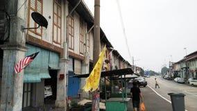 Altes traditionelles shophouse lizenzfreies stockbild