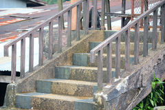 Altes Treppenhaus Stockbild