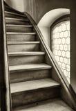 Altes Treppenhaus Stockbilder