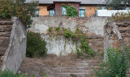 Altes Treppenhaus lizenzfreie stockfotografie