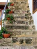 Altes Treppenhaus Lizenzfreie Stockbilder