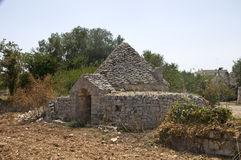 Altes trullo stockbild