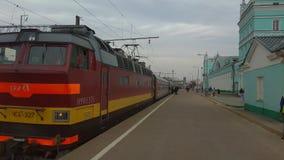 Altes tschechisches ` s lokomotive Gemacht in mittlerem 80 ` s Lizenzfreie Stockfotografie