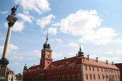 Altes Twown in Warschau Lizenzfreies Stockbild