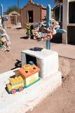 Altes typisches cementery, touristischer Platz Lizenzfreie Stockfotografie