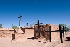 Altes typisches cementery, touristischer Platz Stockfotos