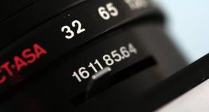Altes UDSSR-Kameraobjektiv, Details Lizenzfreie Stockfotografie