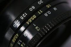 Altes UDSSR-Kameraobjektiv, Details Lizenzfreie Stockbilder