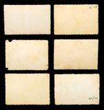 Altes unbelegtes fotographisches Papier Stockbild