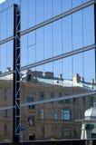 Altes und neues Artgebäude Lizenzfreie Stockfotos