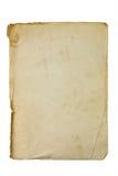 Altes und schmutziges Blatt Papier Lizenzfreies Stockfoto