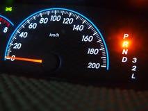 Altes und schmutziges Geschwindigkeitsmessgerät Lizenzfreie Stockbilder