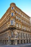 Altes und verlassenes Gebäude in Wien Lizenzfreie Stockfotos