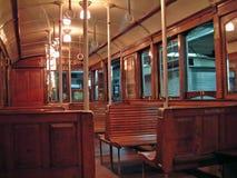 Altes Untergrundbahnauto Lizenzfreie Stockbilder