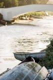 Altes Venedig-Reihenboot Lizenzfreie Stockbilder
