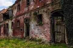 Altes verlassenes Gebäude Stockfotos