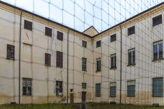 Altes verlassenes Gefängnis Lizenzfreies Stockbild