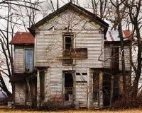 Altes verlassenes Haus Lizenzfreie Stockfotos