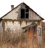 Altes verlassenes Haus. Lizenzfreies Stockfoto