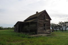 Altes verlassenes Haus stockfoto