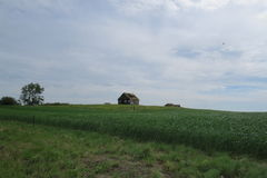 Altes verlassenes Haus Stockbild