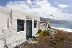 Altes verlassenes Haus auf La Graciosa stockbilder