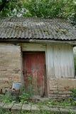 Altes verlassenes Haus in Tschornobyl Pripyat Stockbild