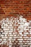 Altes verwittertes Backsteinmauerfragment Lizenzfreie Stockfotografie
