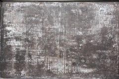 altes verwittertes oxidated Metallmuster stockfotografie