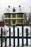 Altes viktorianisches Haus Lizenzfreie Stockfotos