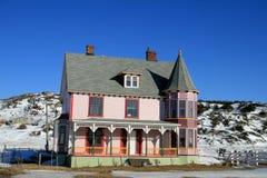Altes viktorianisches Haus lizenzfreie stockbilder
