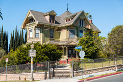 Altes viktorianisches Haus stockbild